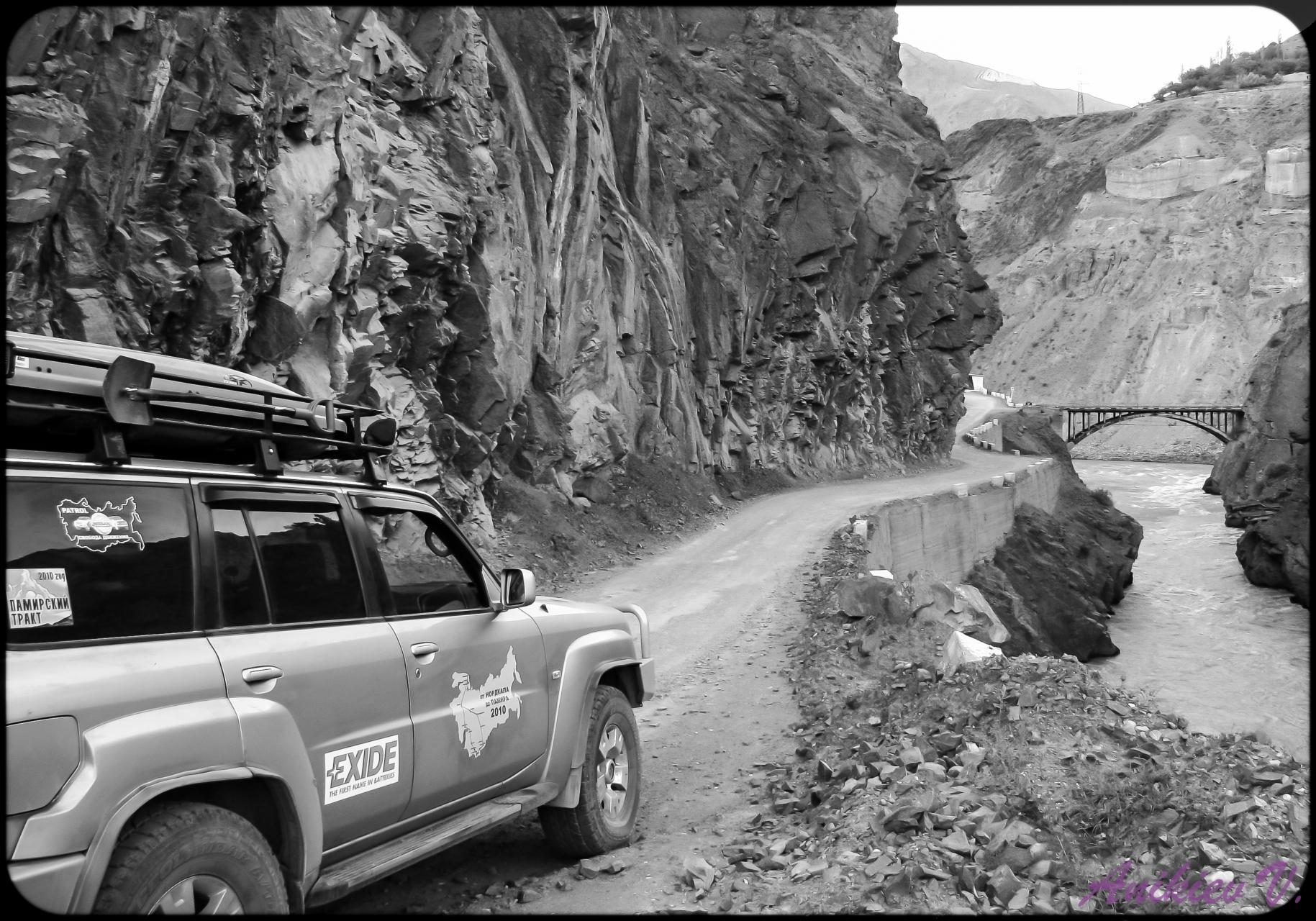 по пути  в  Душанбе