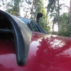 nissan Air intake On The hood 05