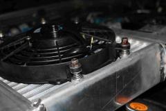 Крепление вентилятора к увеличенному интеркулеру