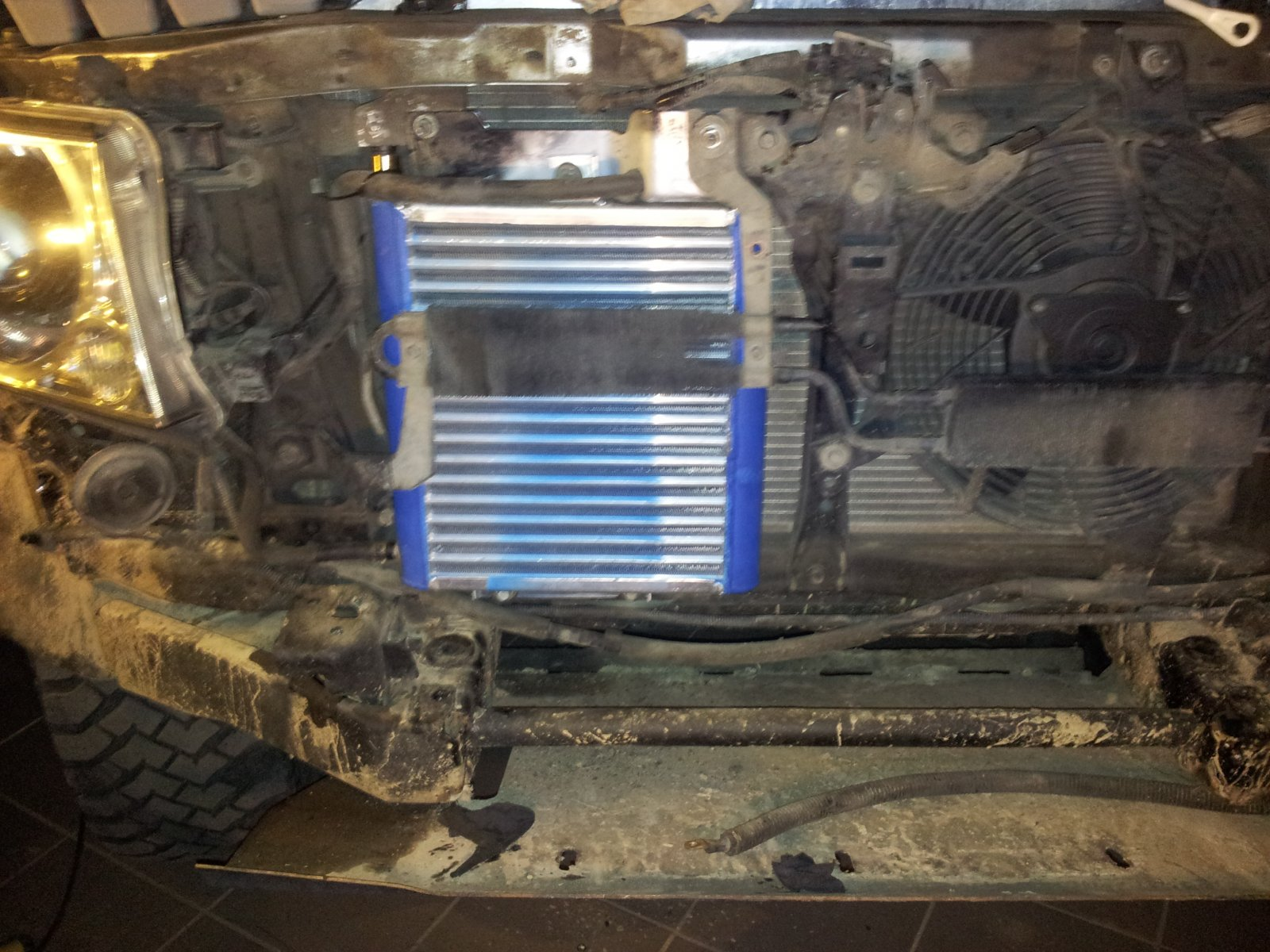 радиатор акпп патрол Y61