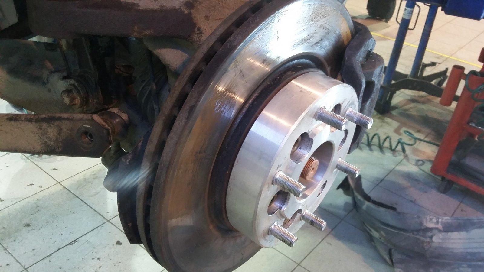 колесные проставки с 6*114.3 на 6*139.7 для установки колес с другой разболтовкой и расширении колес