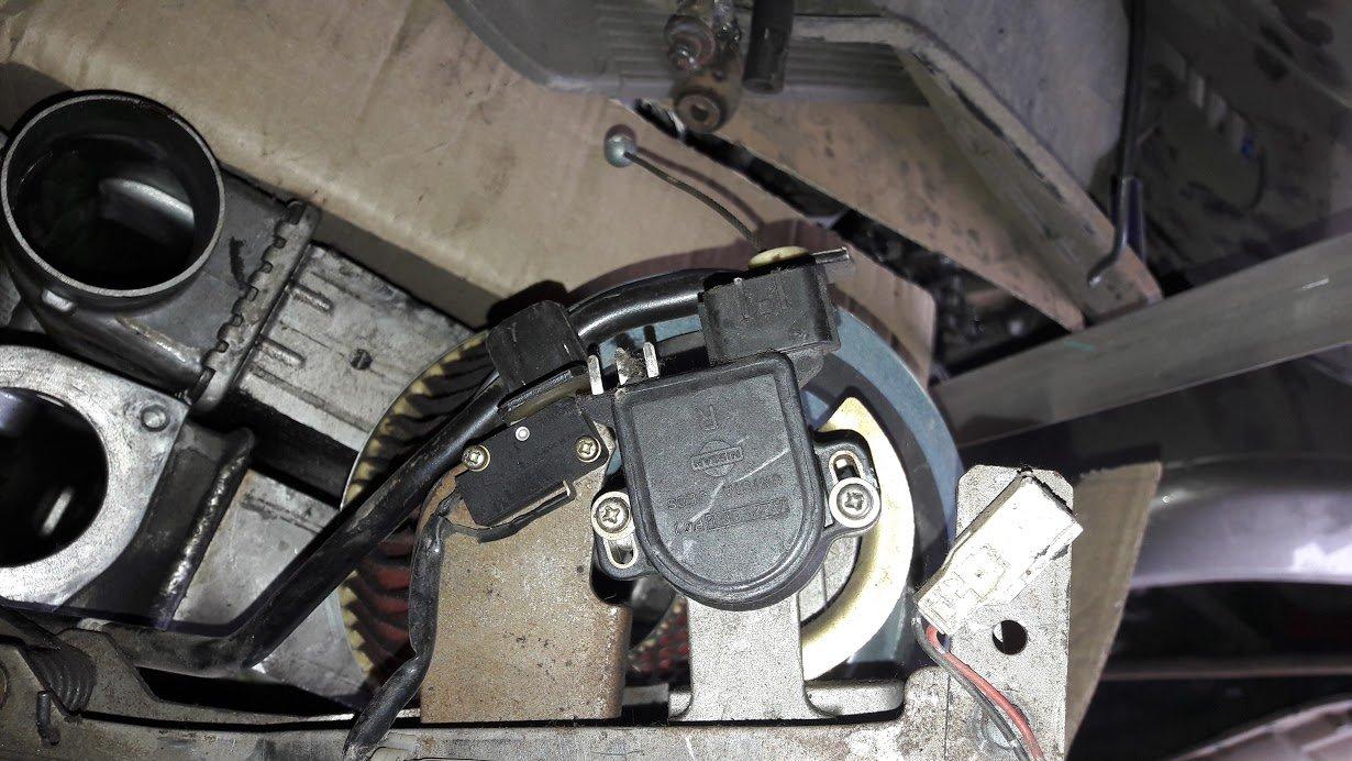 педаль газа на ниссан патрол - 2
